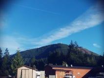 Loveing der hübsche Berg Lizenzfreie Stockfotografie