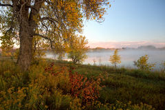 Loveland Colorado i nedgången royaltyfri fotografi