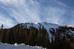 Loveland Colorado Ski. Mountain area snow stock photography