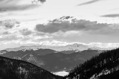 Loveland Colorado skidar royaltyfri fotografi