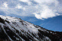 Loveland Colorado skidar fotografering för bildbyråer