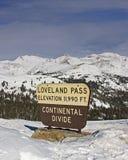 Loveland Durchlauf Lizenzfreies Stockfoto