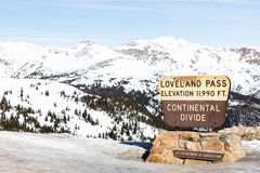 Loveland-Durchlauf lizenzfreie stockfotos