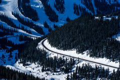 Loveland Pass, Arapahoe Basin Ski Resort stock photos