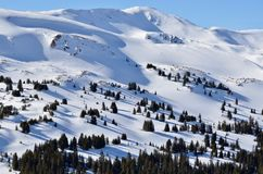 Love that Loveland Pass Powder! Highway 6, Colorado. Loveland Pass, on the Colorado Continental Divide in the Front Range, west of Denver on U.S. Highway 6, is a stock photography