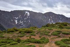 Loveland Pass, Colorado royalty free stock images