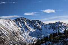 Loveland Pass in Colorado stock photos