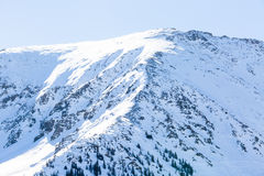 Loveland pass. Typical weekend at Loveland pass on late Winter day stock photography