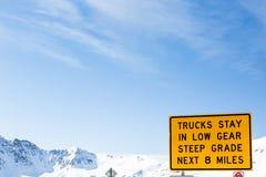 Loveland pass stock photo