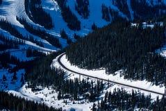 Loveland passerande, Arapahoehandfat Ski Resort arkivfoton