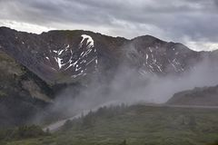 Loveland passerande, Colorado arkivbild