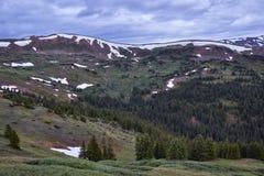 Loveland przepustka, Kolorado zdjęcie royalty free