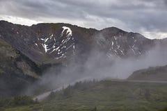 Loveland przepustka, Kolorado fotografia stock