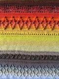 Loveley crochet blanket stock images