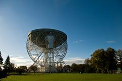 lovell τηλεσκόπιο στοκ εικόνα
