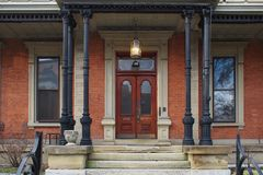 Lovell Graziani historic Second Empire style mansion in Covington Kentucky Royalty Free Stock Images