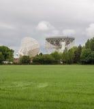 lovell radio telescope Arkivfoton