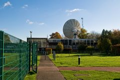 The Lovell Telescope Royalty Free Stock Photography