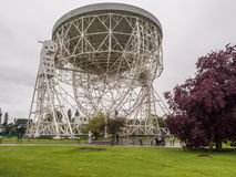 Lovell telescope. June 12th 2016. Jodrell Bank Observatory, Cheshire, UK. The Lovell Telescope, Cheshire, UK Stock Image