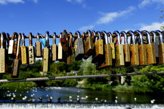 Lovelocks Stock Photography