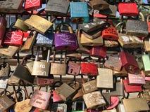 Lovelocksachtergrond stock afbeelding