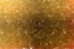 Lovely abstract illustration of brown and red colorful Small hexagon. Useful background for your prints. Lovely abstract illustration of brown and red colorful royalty free illustration