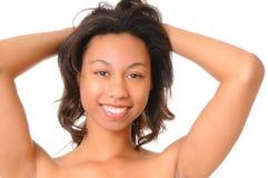 Lovely African American Girl Stock Photo