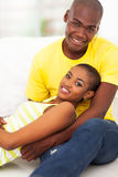 Lovely african couple Royalty Free Stock Photography