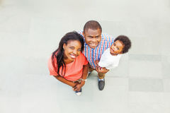 Lovely african family Royalty Free Stock Image