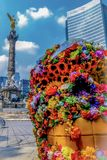 A lovely afternoon in mexico city stock photos