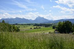 Lovely Allgaeu Stock Photography