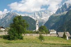 Lovely alpine landscape Stock Photo