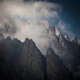 Lovely Alpine Scenery Royalty Free Stock Photos