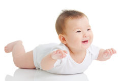 Lovely asian baby royalty free stock photos