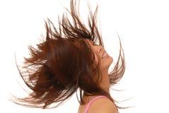 Lovely Asian Brunette Girl Stock Image