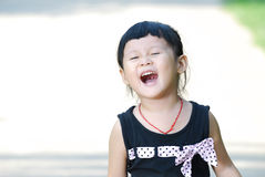 Lovely asian children with laughing Royalty Free Stock Photography