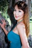 Lovely asian girl Royalty Free Stock Image