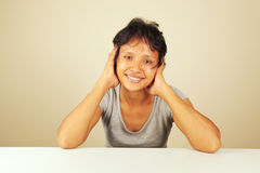 Lovely Asian woman Royalty Free Stock Images