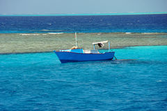 Lovely atoll Stock Photography