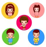 Lovely  babies Stock Images