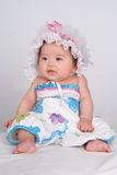 Lovely baby. In pretty cloth Stock Image