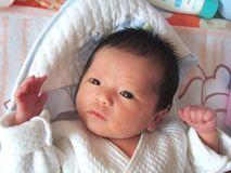 Lovely baby Stock Photo