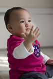 Lovely baby. On bright background Stock Photography