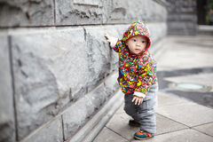 Lovely baby boy Stock Images