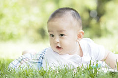A lovely baby Royalty Free Stock Images