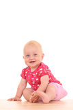 Lovely baby girl stock photography