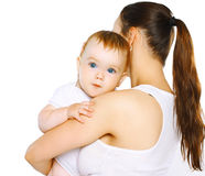 Lovely baby and mom Stock Photography