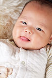 Lovely baby portrait Royalty Free Stock Image