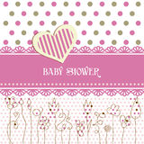 Lovely Baby Shower Royalty Free Stock Images