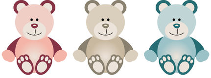 Lovely Baby Teddy Bear Royalty Free Stock Images